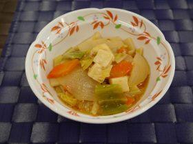 春野菜の麻婆豆腐
