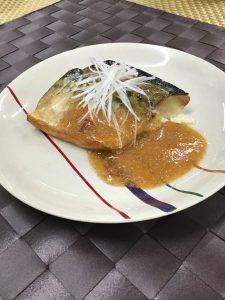 鯖の韓国風ピリ辛焼き