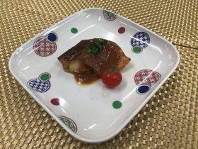 メバルのガーリックステーキ
